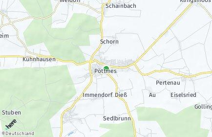 Stadtplan Pöttmes