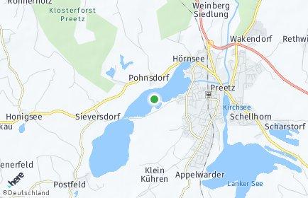 Stadtplan Pohnsdorf bei Preetz