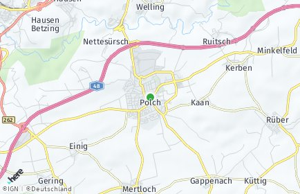 Stadtplan Polch