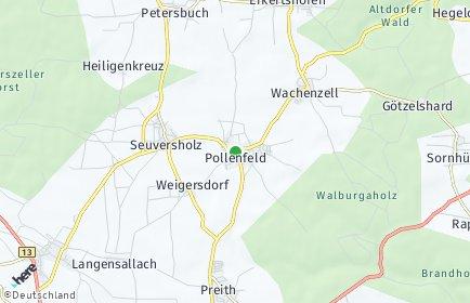 Stadtplan Pollenfeld