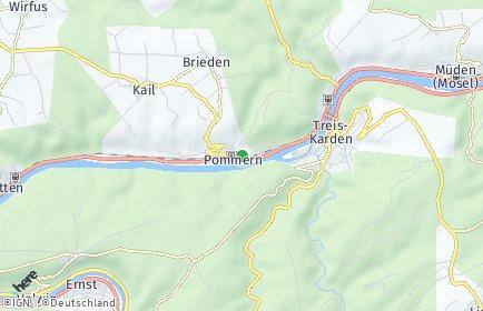 Stadtplan Pommern