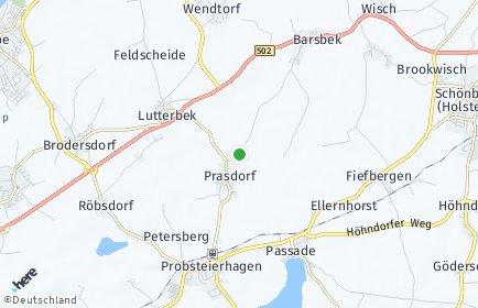 Stadtplan Prasdorf