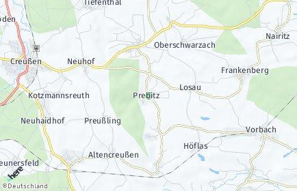 Stadtplan Prebitz