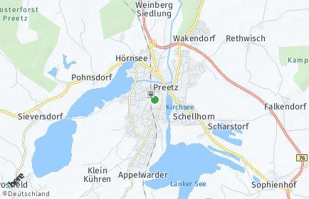 Stadtplan Preetz