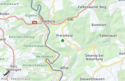 Stadtplan Preischeid