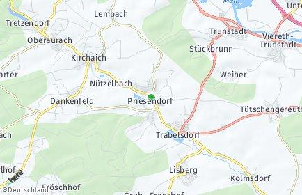 Stadtplan Priesendorf