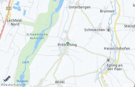 Stadtplan Prittriching