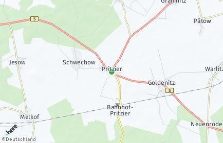 Stadtplan Pritzier