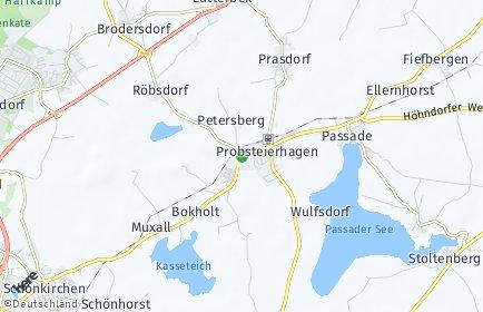 Stadtplan Probsteierhagen