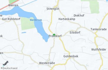 Stadtplan Pronstorf