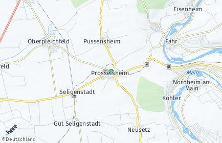Stadtplan Prosselsheim