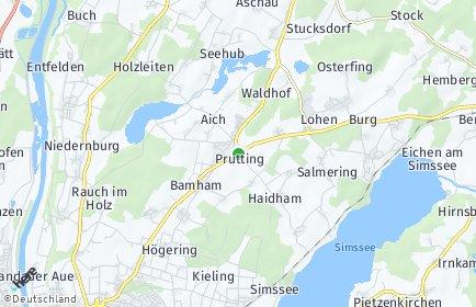 Stadtplan Prutting