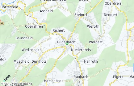 Stadtplan Puderbach