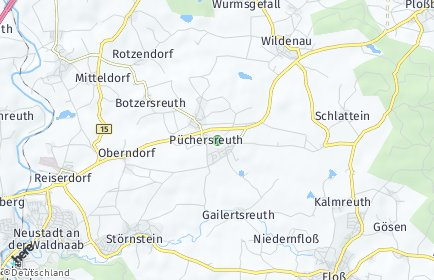 Stadtplan Püchersreuth