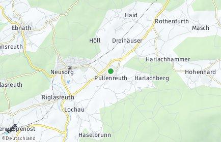 Stadtplan Pullenreuth