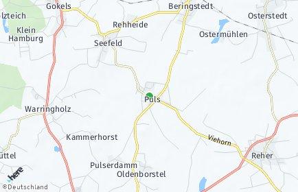 Stadtplan Puls