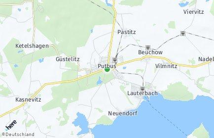 Stadtplan Putbus