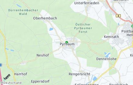 Stadtplan Pyrbaum