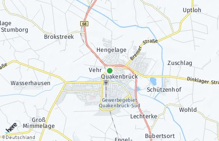 Stadtplan Quakenbrück