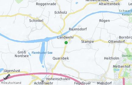 Stadtplan Quarnbek