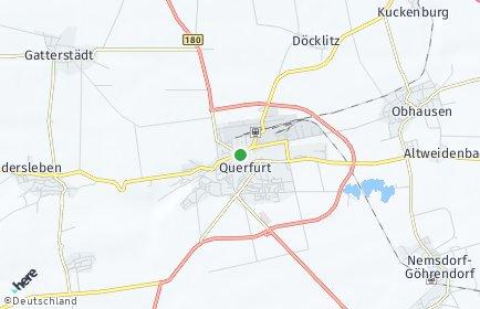 Stadtplan Querfurt