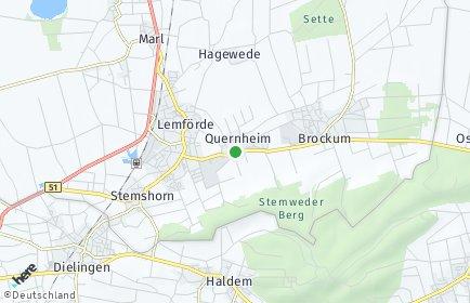Stadtplan Quernheim