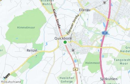 Stadtplan Quickborn