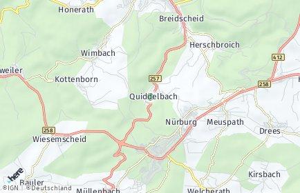 Stadtplan Quiddelbach