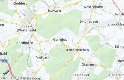Stadtplan Quirnbach (Westerwald)