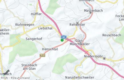 Stadtplan Quirnbach (Pfalz)