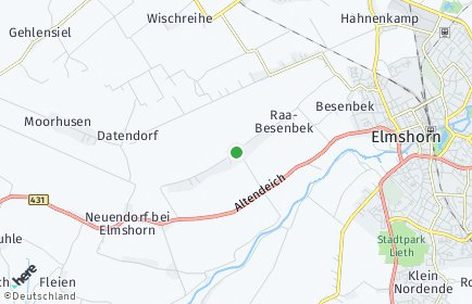 Stadtplan Raa-Besenbek
