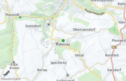 Stadtplan Rabenau (Sachsen)