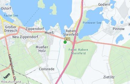Stadtplan Raben Steinfeld
