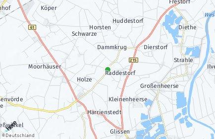 Stadtplan Raddestorf