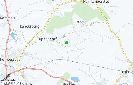 Stadtplan Rade b. Hohenwestedt