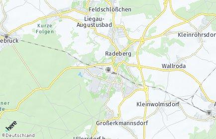 Stadtplan Radeberg