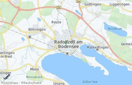 Stadtplan Radolfzell am Bodensee