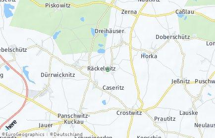 Stadtplan Räckelwitz
