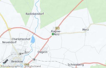 Stadtplan Ragow-Merz