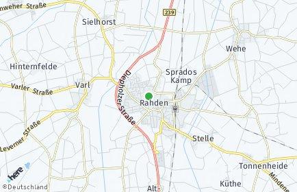 Stadtplan Rahden