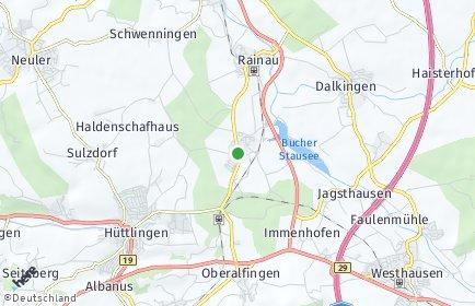 Stadtplan Rainau