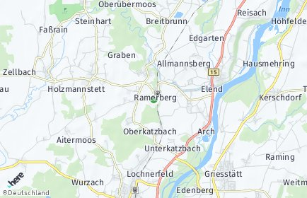 Stadtplan Ramerberg