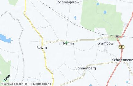 Stadtplan Ramin