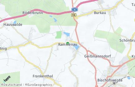 Stadtplan Rammenau