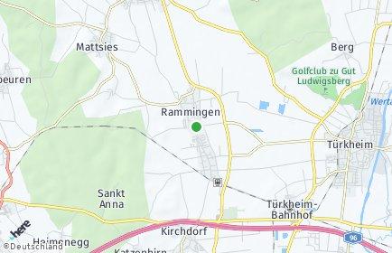 Stadtplan Rammingen (Bayern)