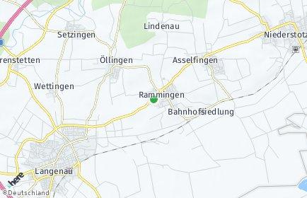 Stadtplan Rammingen (Württemberg)