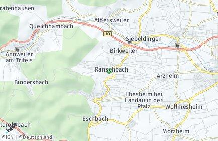 Stadtplan Ranschbach
