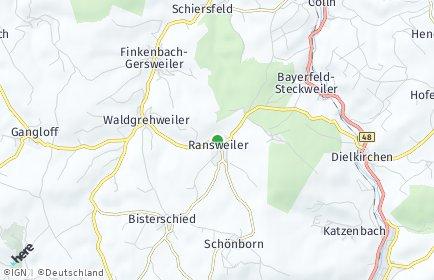 Stadtplan Ransweiler