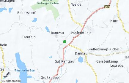 Stadtplan Rantzau