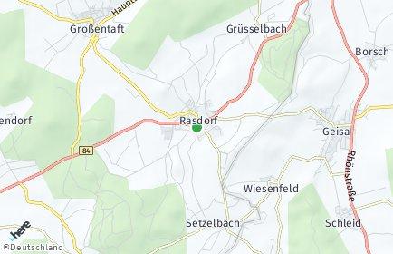 Stadtplan Rasdorf